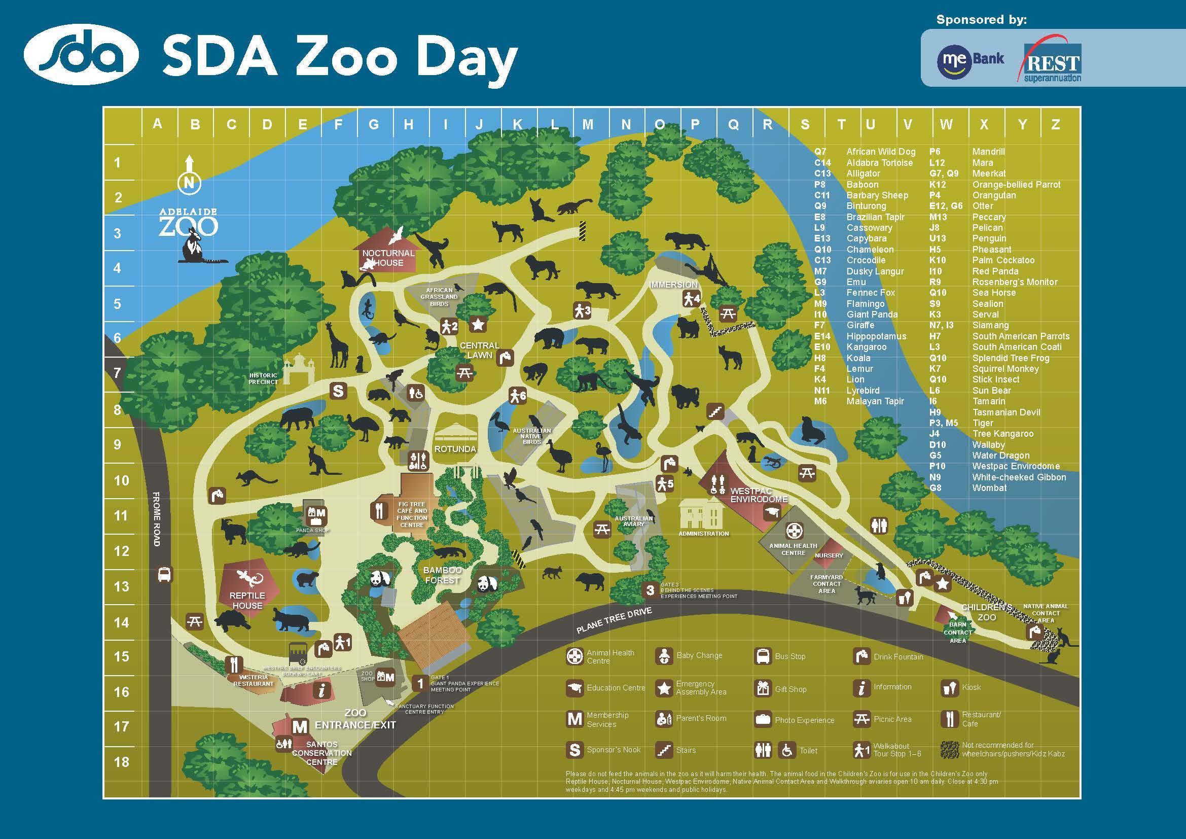SDA Zoo Day turns 20 this weekend SDA SA NT Branch