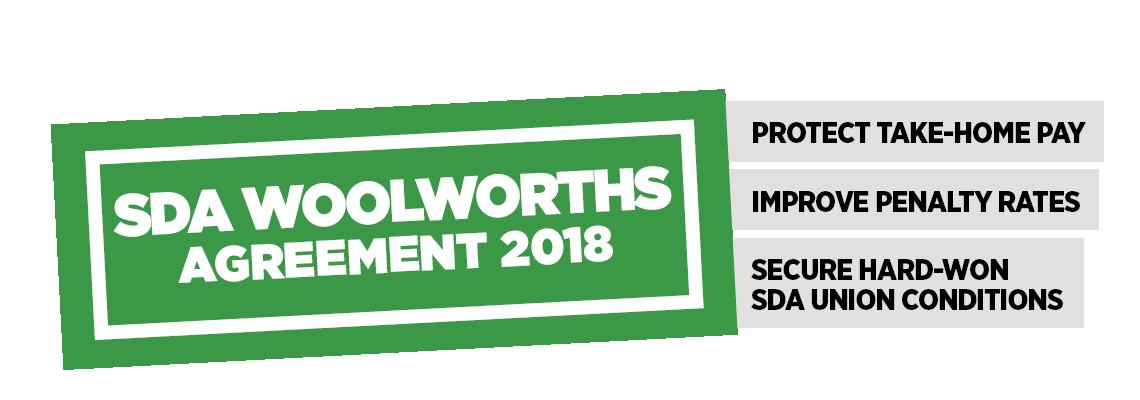 Sda Woolworths Agreement 2018
